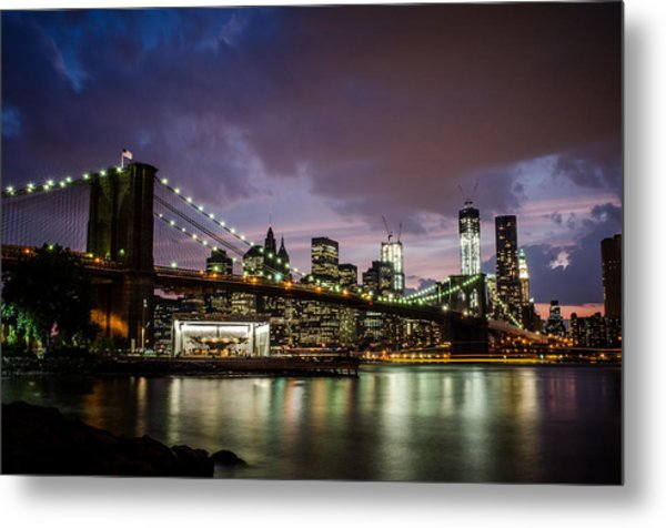 Light Up The Night Metal Print