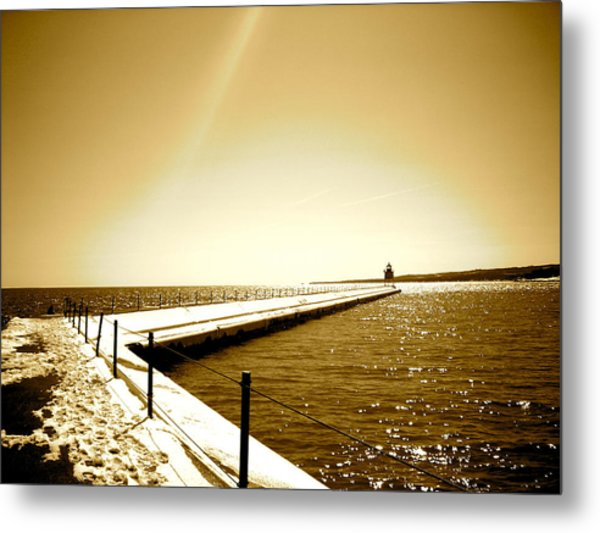 Lighthouse 1 Metal Print by Eric Larson