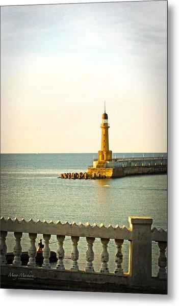 Lighthouse - Alexandria Egypt Metal Print