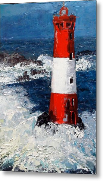 Lighthouse Keeper Metal Print