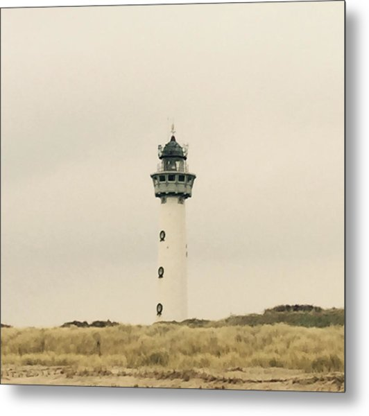 Lighthouse Netherlands Metal Print