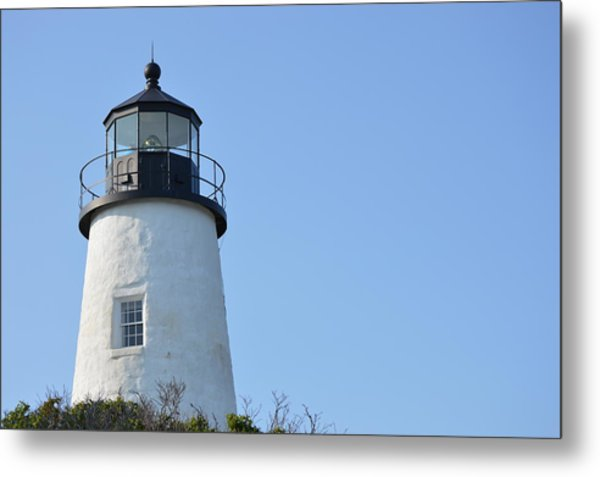 Lighthouse On Clear Day Metal Print