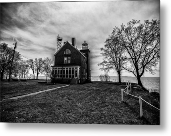 Lighthouse Put-in-bay Metal Print