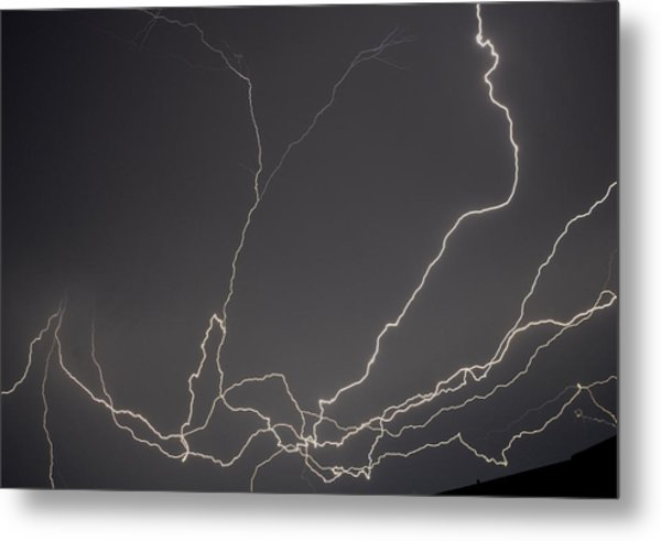 Lightning 6a Metal Print