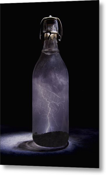 Lightning In A Bottle Metal Print
