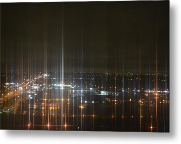 Light's Sound Waves Metal Print by Naomi Berhane
