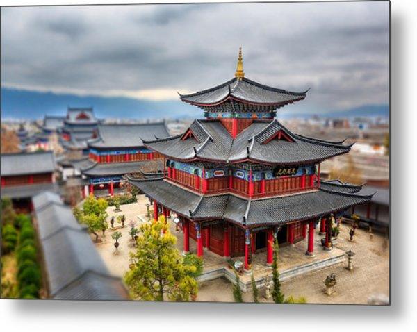 Lijiang, Yunnan, China Metal Print by Kiszon Pascal