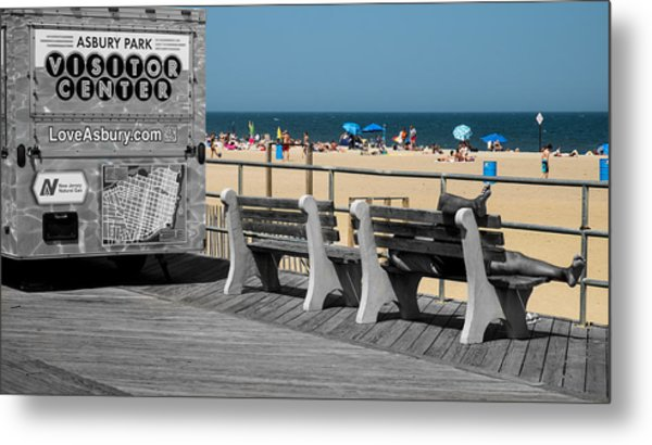 Like A Day At The Beach Metal Print