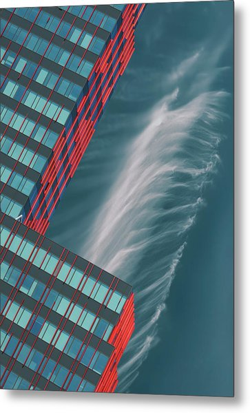 Like A Feather In The Air. Metal Print by Greetje Van Son