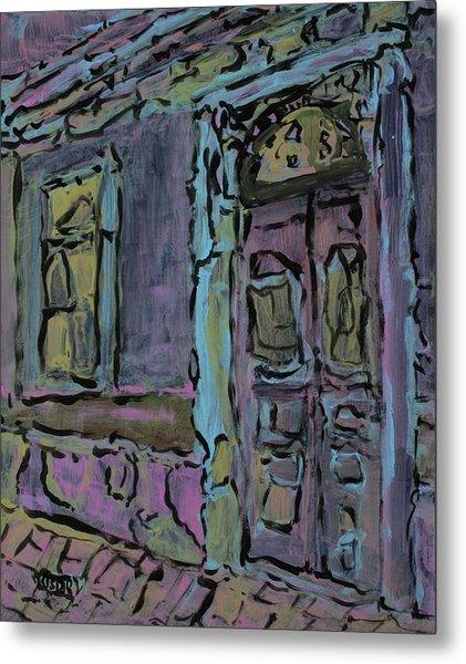 Lilac House  Metal Print