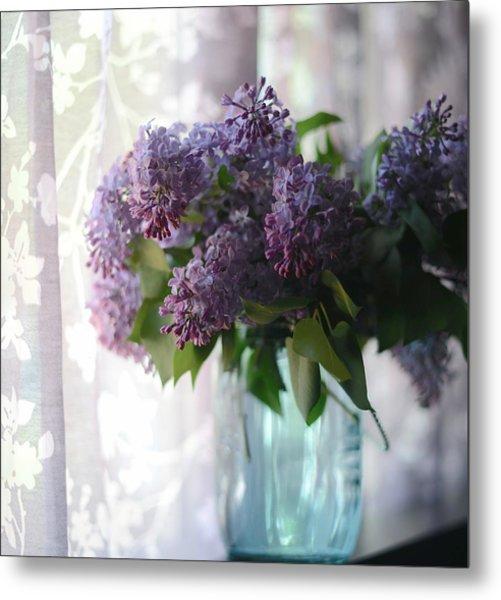 Lilac Morning Metal Print