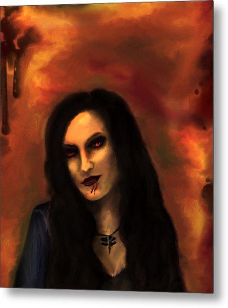 Lilith Metal Print