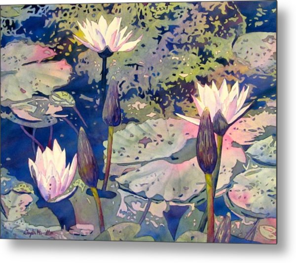 Lilly Pond Metal Print