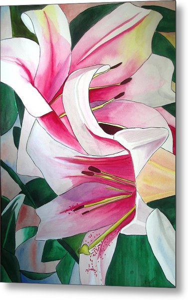 Lily Triumphator Metal Print by Sacha Grossel