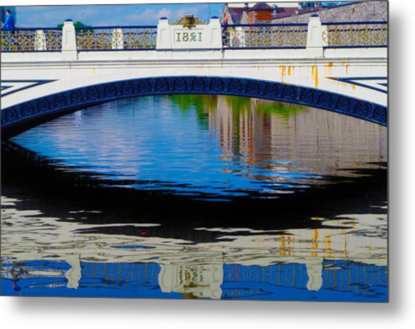 Sean Heuston Dublin Bridge Metal Print