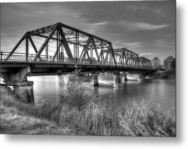 Lincoln Ave. Bridge Metal Print