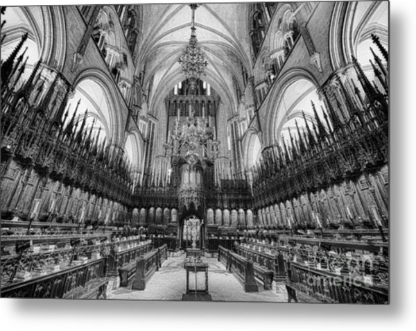 Lincoln Cathedral The Choir II Metal Print