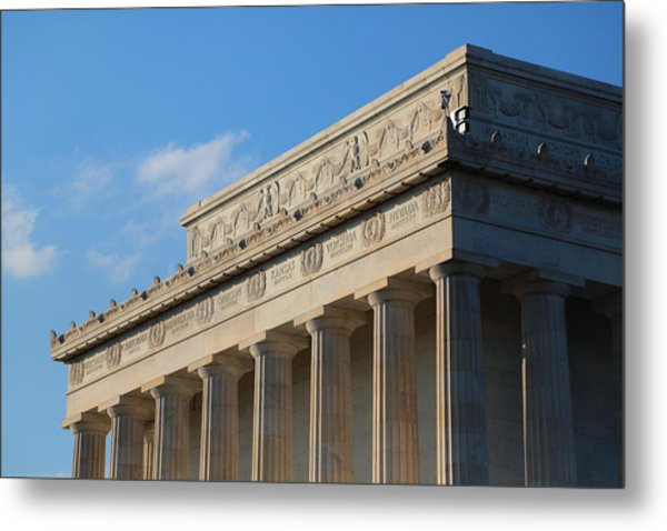 Lincoln Memorial - The Details Metal Print