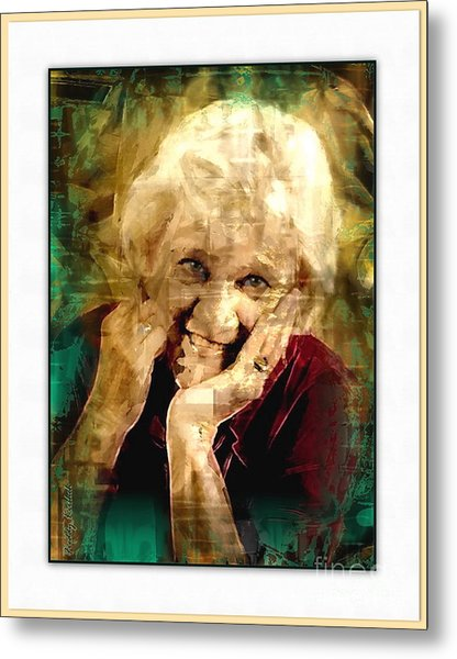 Line Of Life Experiences.. Metal Print by Sharon Burger
