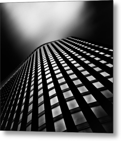Lines Of Learning Metal Print