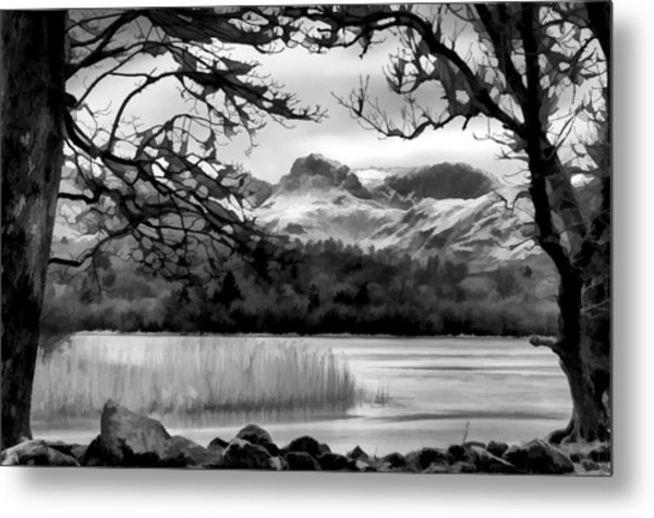 Lingmoor Fell Metal Print