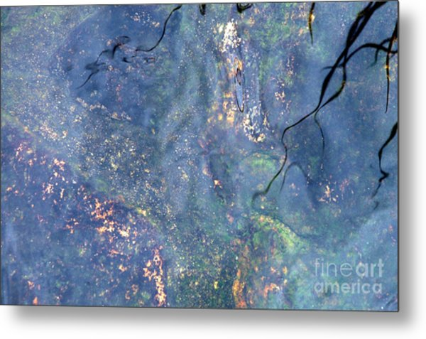 Liquid Light Metal Print