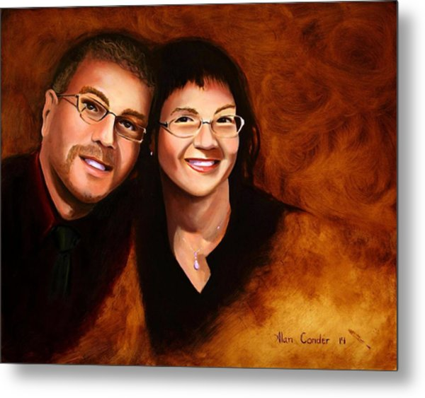 Lisa And Me Metal Print