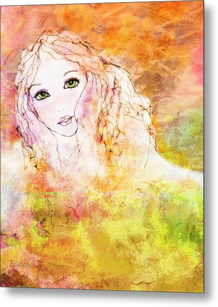Listen To The Colour Of Your Dreams Metal Print