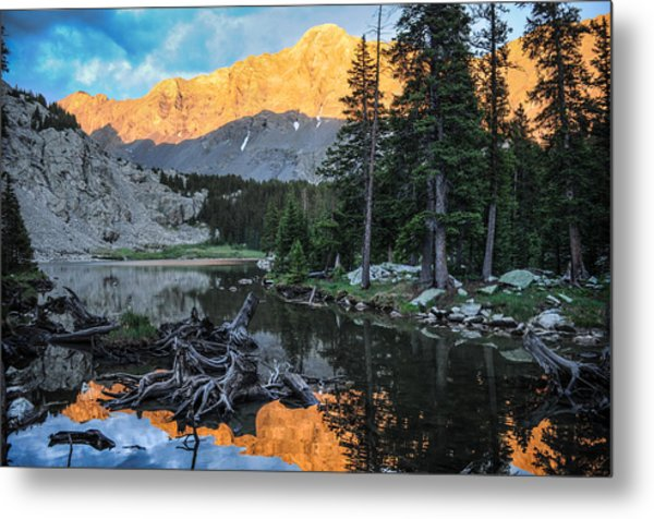 Little Bear Peak And Lake Como Metal Print