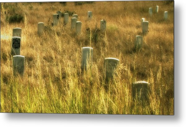 Little Big Horn Gravesite Metal Print