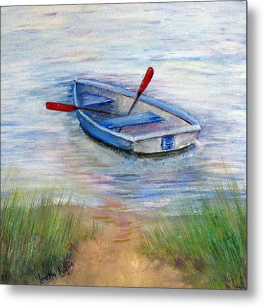 Little Boat Metal Print