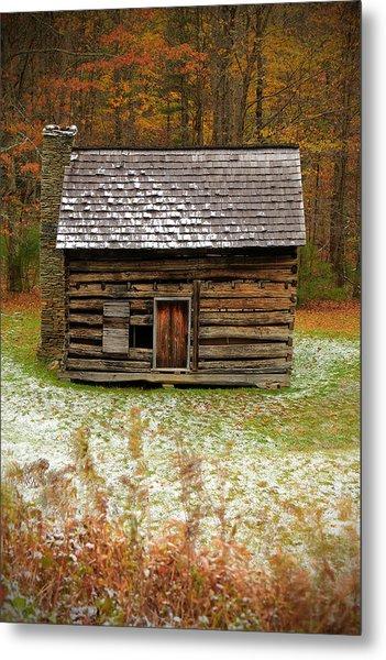 Little Cabin Metal Print