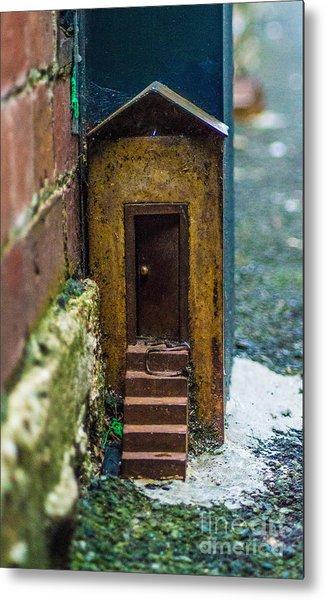 Little House Down The Lane  Metal Print