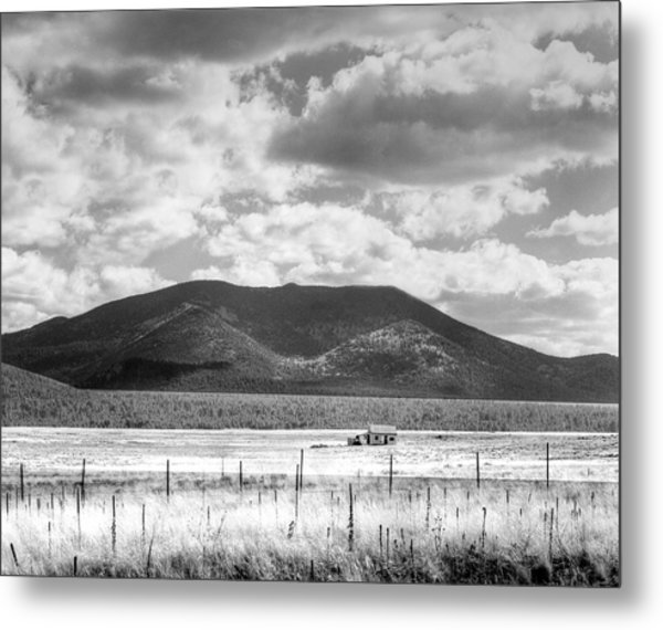 Metal Print featuring the photograph Little House On The Prairie by Dave Beckerman