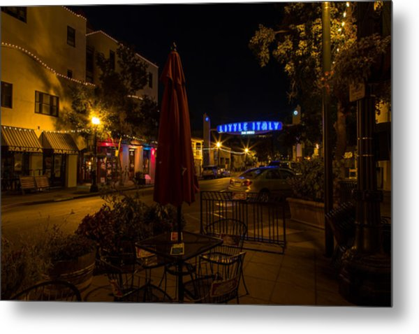 Little Italy  Metal Print
