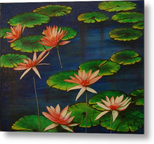 Little Pond Metal Print