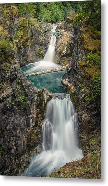 Little Qualicum Falls Metal Print