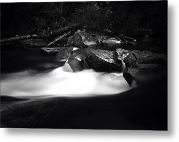 Little River Cauldron Metal Print