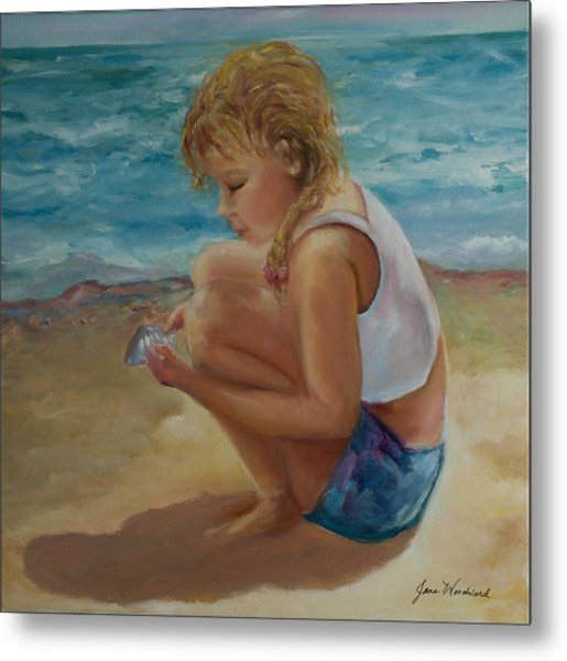 Little Shell Collector Metal Print by Jane Woodward