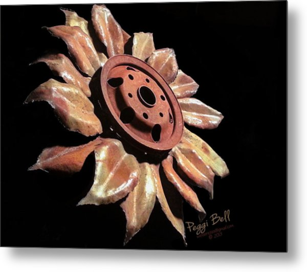 Little Sunflower Metal Print