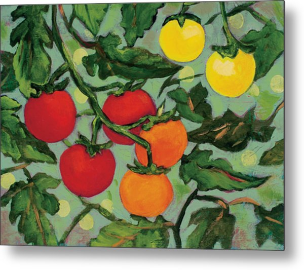 Little Tomatoes Metal Print