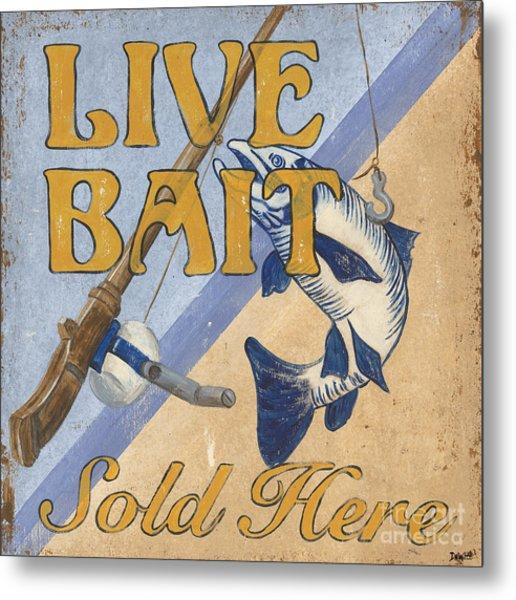 Live Bait Metal Print