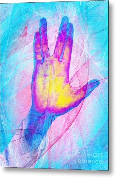 Live Long And Prosper 20150302v1 Metal Print