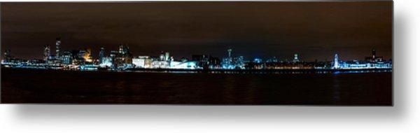 Liverpool Waterfront Metal Print