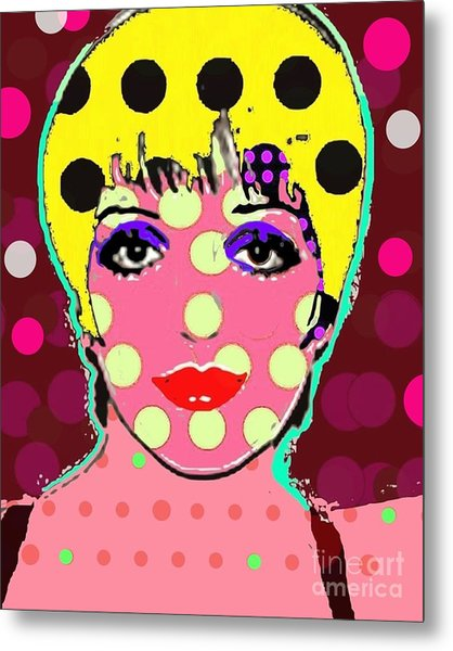 Liza Metal Print by Ricky Sencion