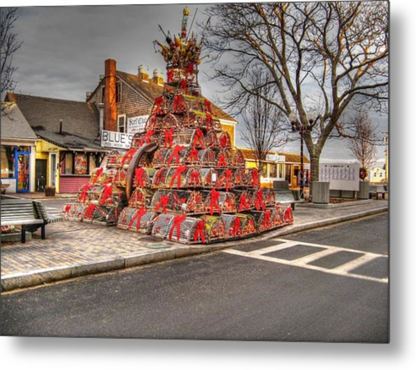 Lobstermans Holiday Metal Print