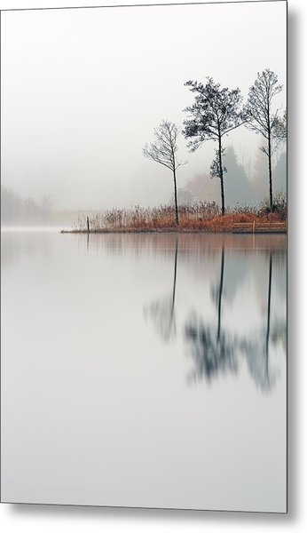 Loch Ard Reflections Metal Print