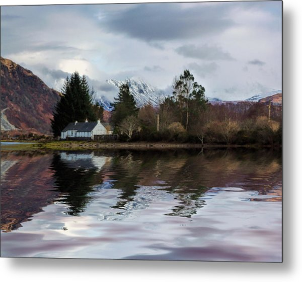 Loch Etive Reflections Metal Print