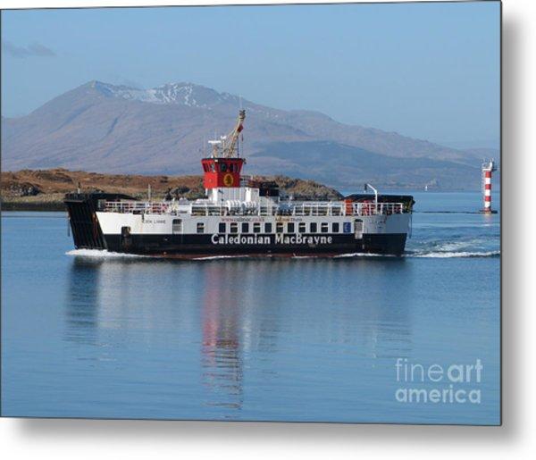 Loch Linnhe Ferry - Oban Metal Print
