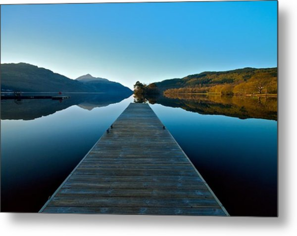 Loch Lomond In The Morning Metal Print